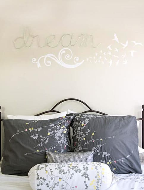Dream wired wall art