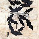 Felt Bat Chandelier–with Sparkle!