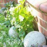 EASY Concrete Garden Spheres