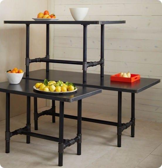 design workshop metal tabletop