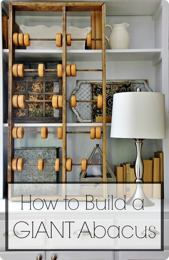 How To Make A Giant Abacus Knockoffdecor Com