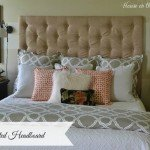 Tall Tufted Fabric Headboard