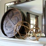 Wooden Spheres from Embroidery Hoops