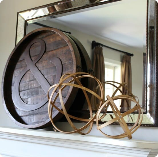 Wooden Spheres From Embroidery Hoops Knockoffdecor Com