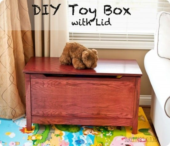 land of nod inspired toy box