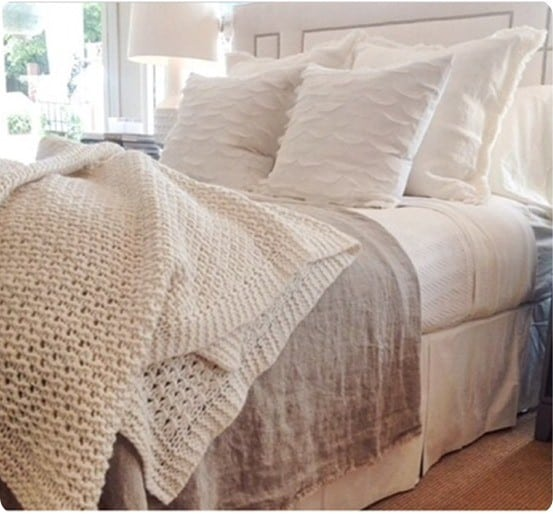 Neutral And Textural Bedding Ensemble Knockoffdecor Com