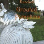 Textural Mercury Glass Pumpkins