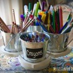 Spinning Art Caddy for Kids