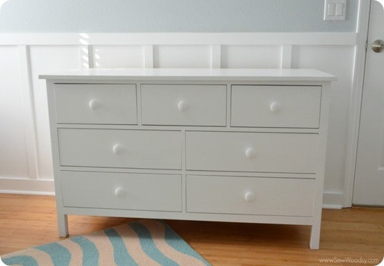 Extra Wide White Dresser For Baby