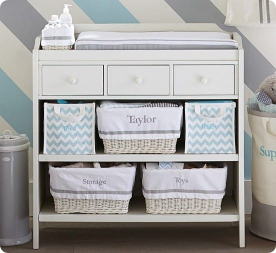 Wondrous Changing Table With Drawers And Shelves Knockoffdecor Com Download Free Architecture Designs Embacsunscenecom