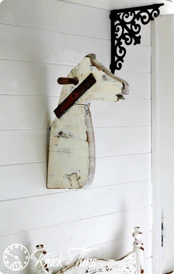 wall mount horse head