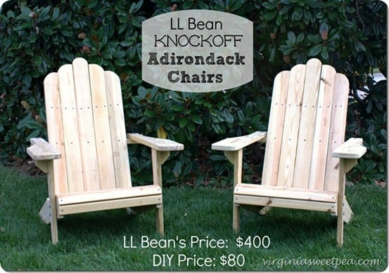 DIY Home Decor Ideas | Adirondack Chairs Tutorial