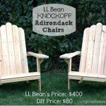 How to Make Wooden Adirondack Chairs