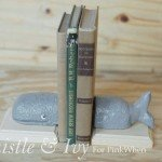 Whale Bookends for a Big Boy Room