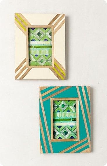 bamboo inlay frame