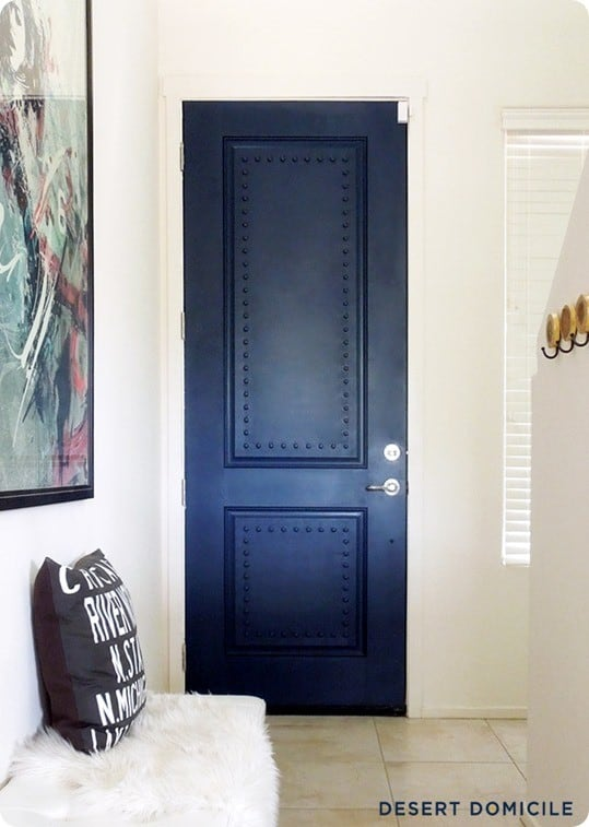 Painted Interior Doors With Wood Trim