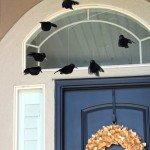 Circling Crow Halloween Mobile