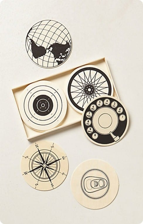 paraphernelia coaster set