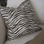 No-Sew Animal Print Pillow from Napkins