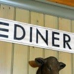 Distressed Diner Sign for the Kitchen