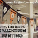 """Trick-or-Treat"" Halloween Bunting"