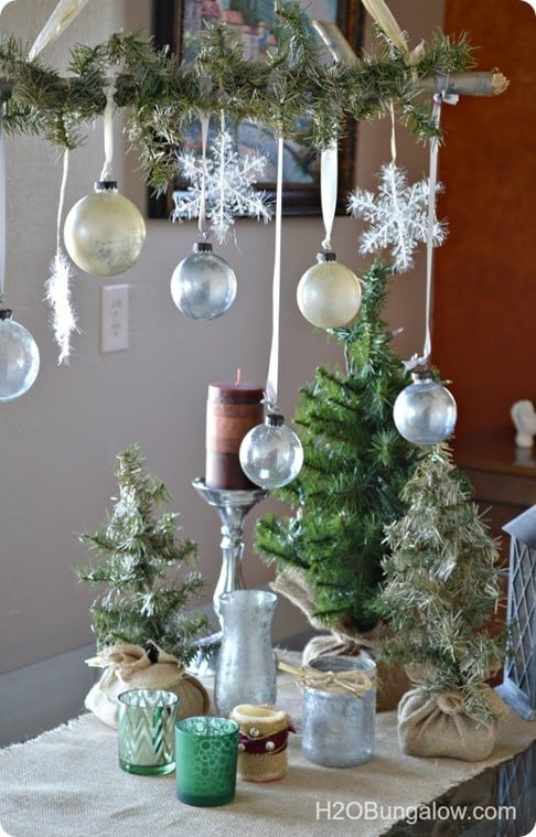 Ballard inspired Christmas tablescape