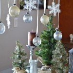 Rustic Glam Hanging Christmas Branch