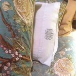 Monogrammed Pillowcase in 10 Minutes