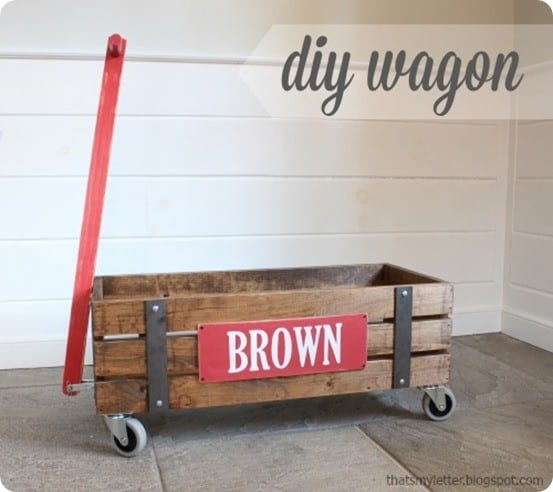 DIY wagon