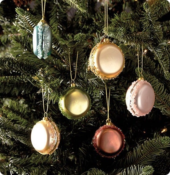 French Macaroon Ornaments