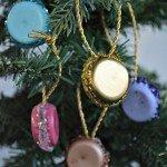 Handmade French Macaroon Ornaments
