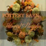 Pumpkin and Leaf Fall Wreath