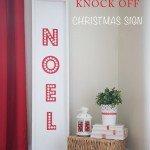 """NOEL"" Christmas Sign"