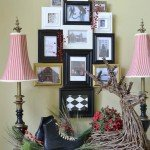 Picture Frame Christmas Tree