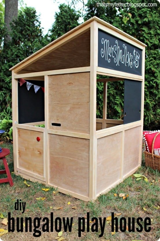 diy bungalow playhouse