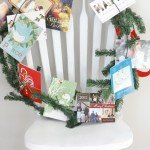 Christmas Card Display Wreath