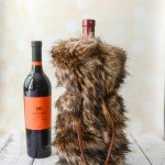 Faux Fur Wine Bag {Handmade Christmas Gift #3}