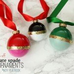 DIY Christmas Ornaments with High End Style