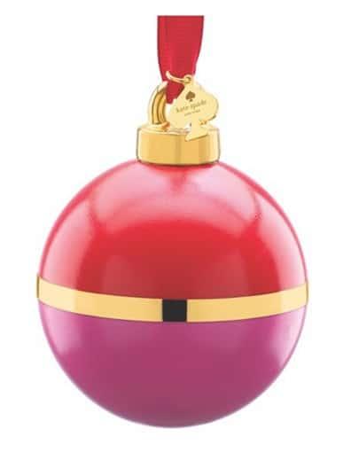 Kate spade globe ornaments