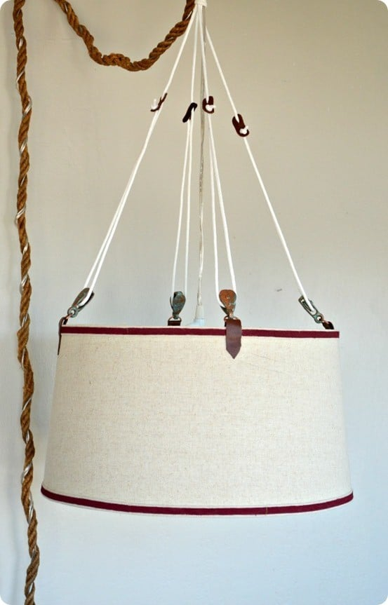 Ralph Lauren knock off nautical pendant light