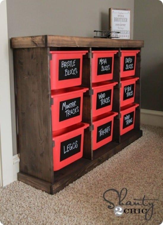 diy toy storage unit