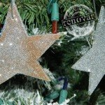 Easy-Enough-for-Kids Glitter Star Ornaments