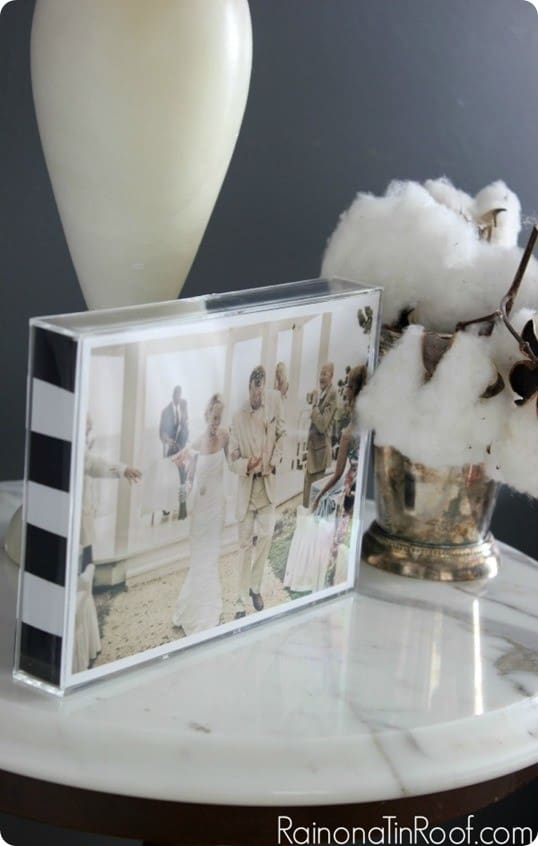 kate spade inspired picture frame