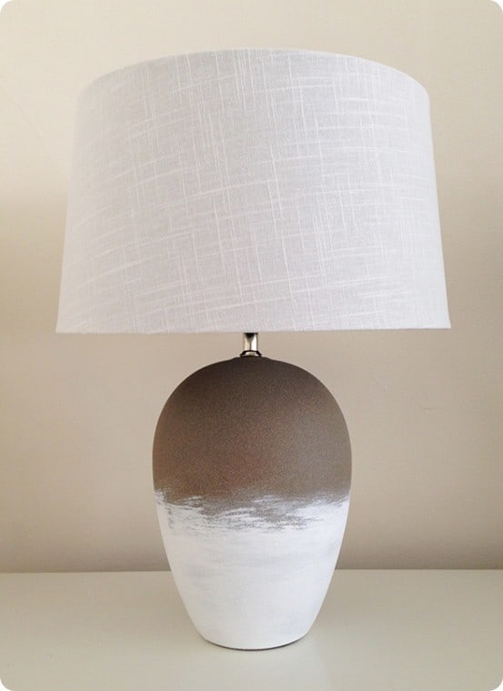 Anthropologie inspired lamp