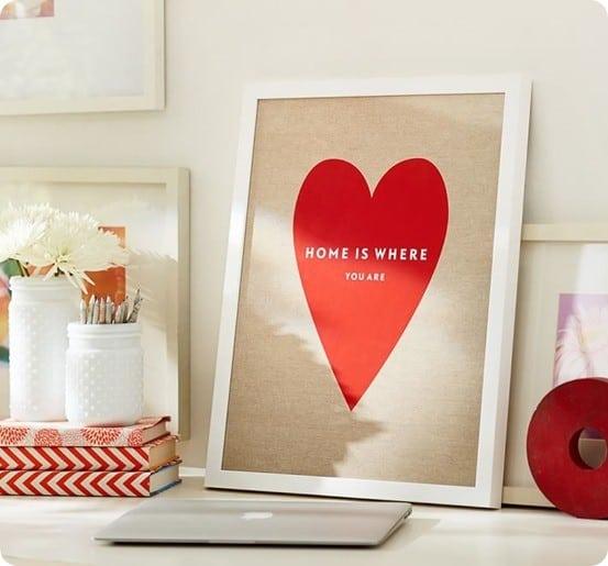Stephanie Sterjovski framed print home is where you are