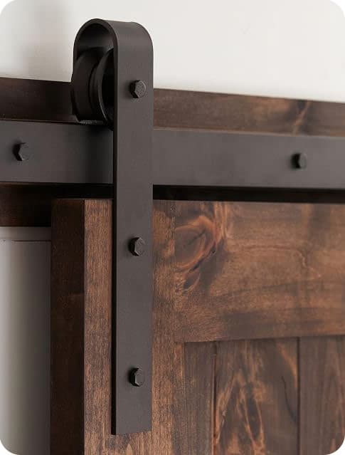 Oil Rubbed Bronze Barn Door Hardware