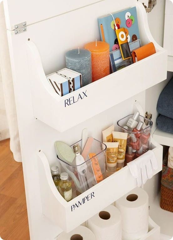 better homes and garden cabinet door organizer
