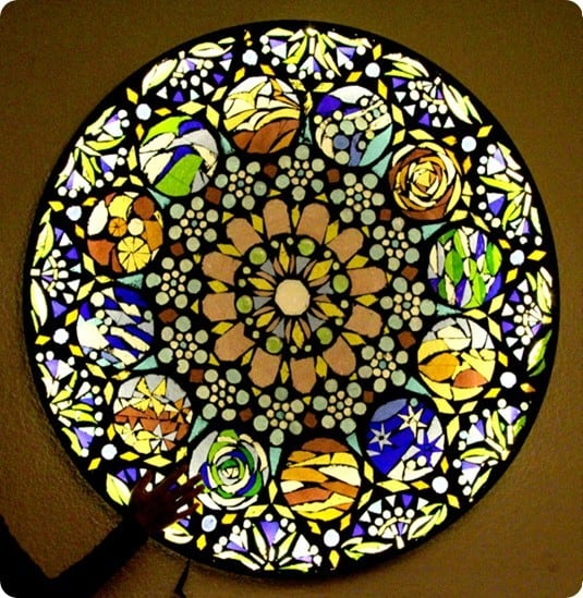 Stained Glass Mosaic Wall Art