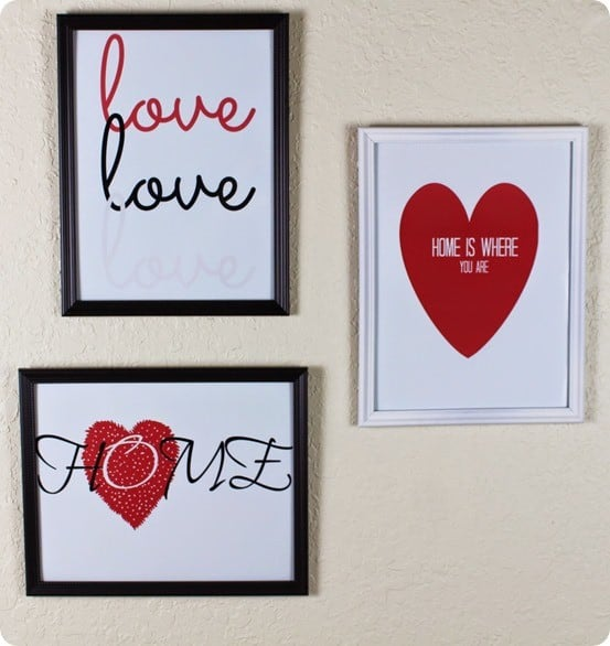 diy valentine prints inspired by pottery barn