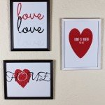 DIY Valentine's Day Art for Less